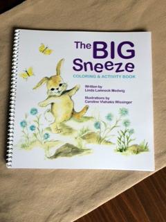The Big Sneeze Coloring Book